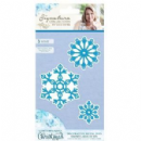 Crafters Companion Sara Signature Contemporary Christmas Collection - Snowflakes Of Joy Metal Die